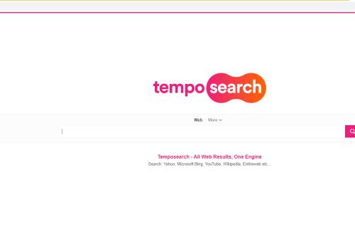 Kaldırmak Tempo Search Virus