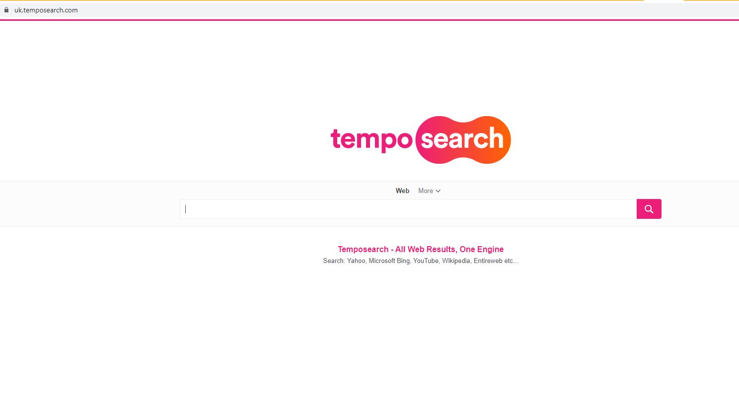 Avlägsna Tempo Search Virus