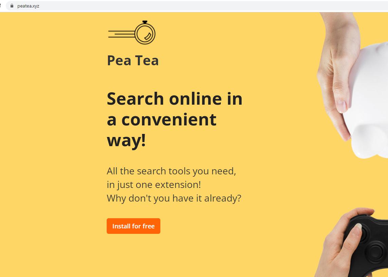 Peatea.xyz Chrome, Firefox ve IE'den kaldırma
