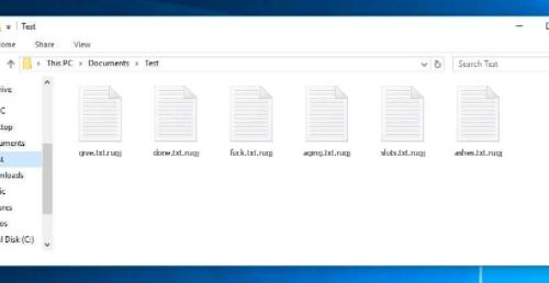 Togliere .Rugj file Ransomware