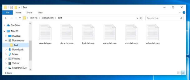 Fjerne .Rugj file Ransomware