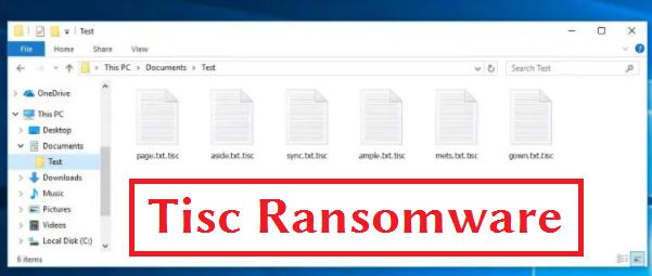 Tisc Ransomware