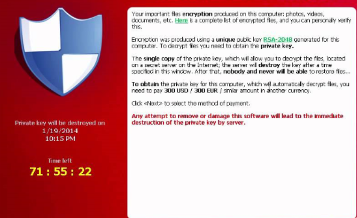 Fjerne Willow Ransomware
